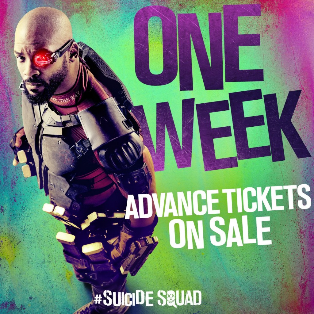 Suicide Squad tickets