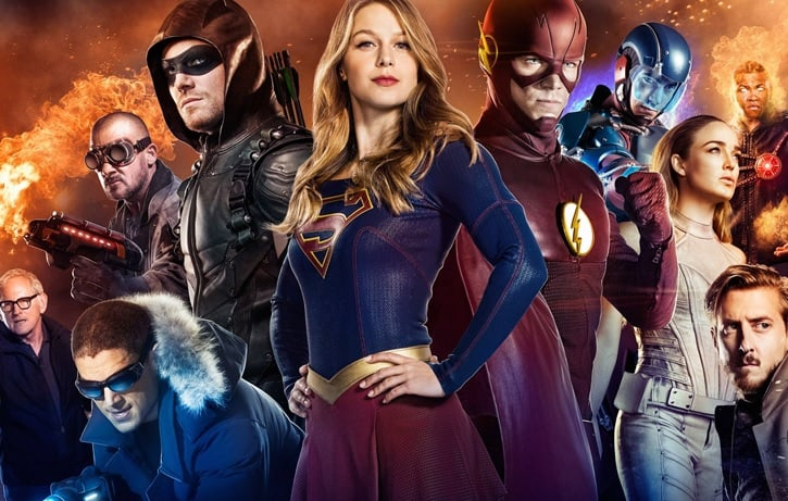 The CW Netflix DC TV