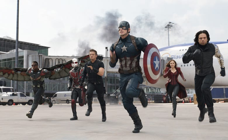 Captain America Civil War Team Cap banner
