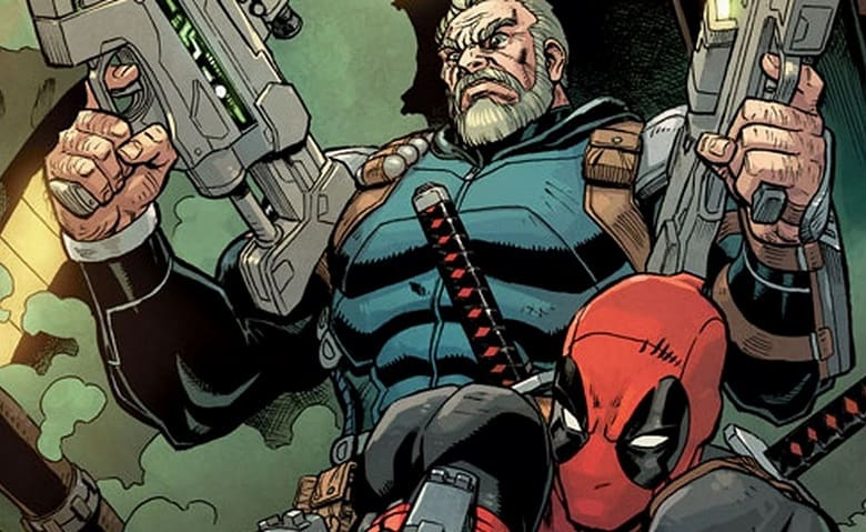Deadpool 2 Cable Rob Liefeld banner