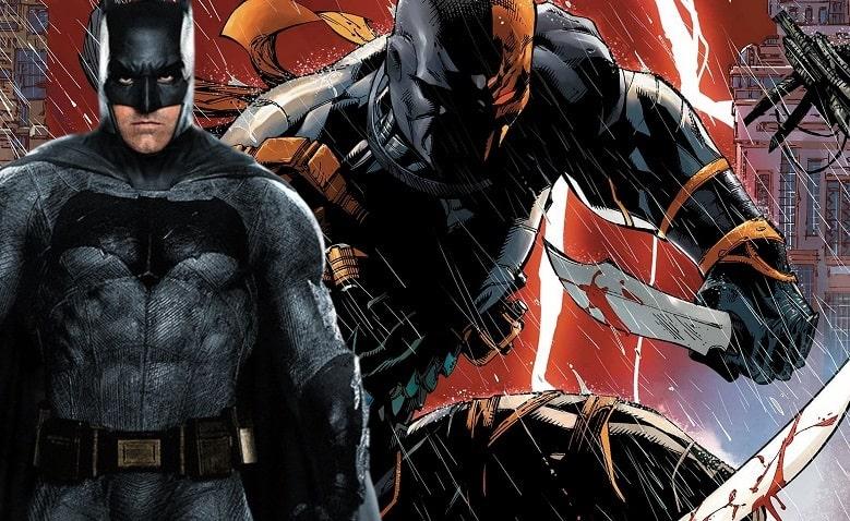 Ben Affleck Batman Deathstroke banner