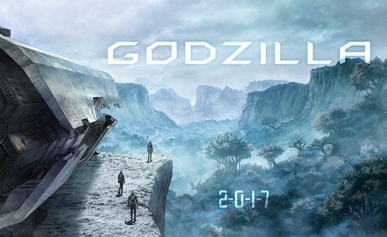 Godzilla Anime banner