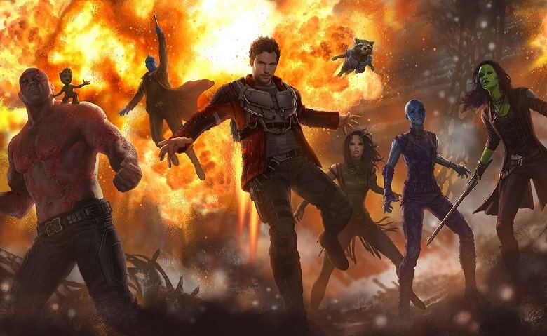 Guardians of the Galaxy Vol. 2 James Gunn banner