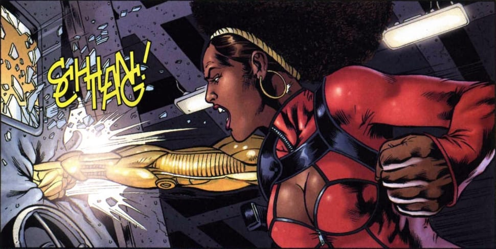 Misty Knight in Marvel comics