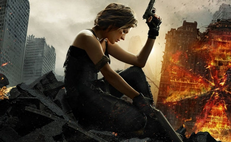 Resident Evil The Final Chapter Movie Clip Alice Awakes: 'Resident Evil: The Final Chapter' Trailer & Poster Released