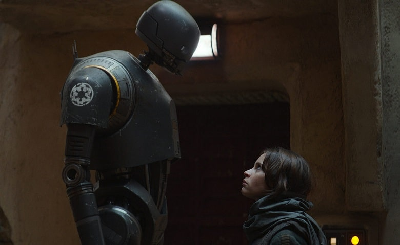 Star Wars Rogue One K-2SO banner