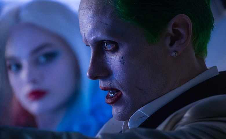 Suicide Squad Joker and Harley Quinn banner