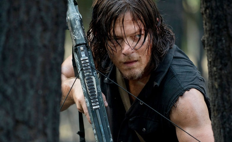 The Walking Dead Daryl banner