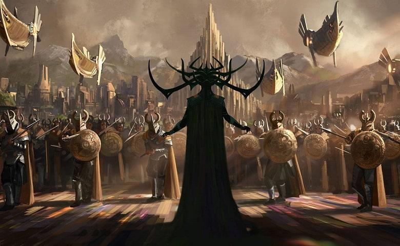 Thor Ragnarok Cate Blanchett Hela