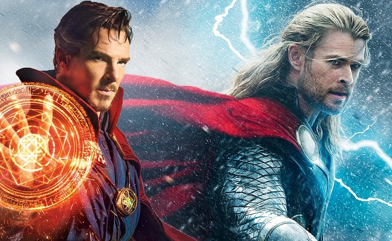Thor Ragnarok Doctor Strange banner