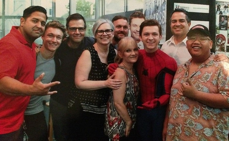 Tom Holland Spider-Man banner