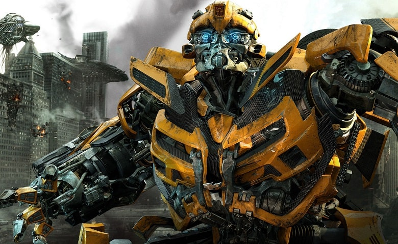 Transformers The Last Knight Bumblebee banner