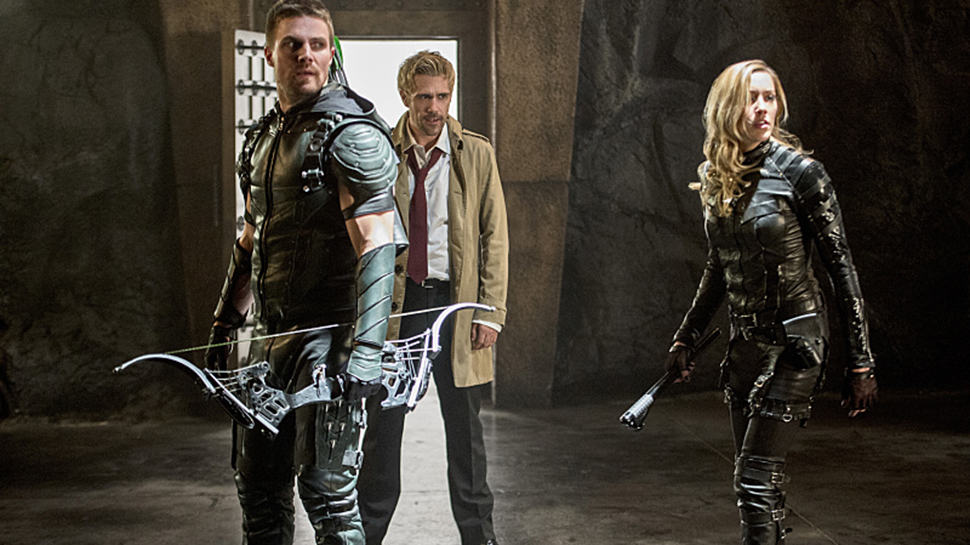 Constantine brough magic to Arrow Season 4