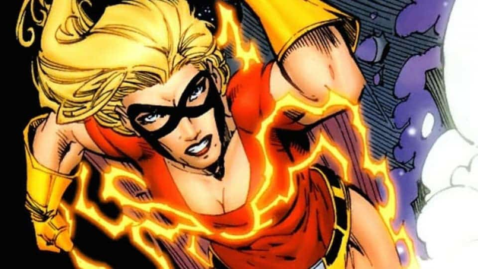 jesse quick the flash