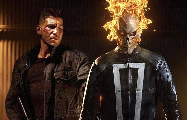 Punisher Ghost Rider SHIELD