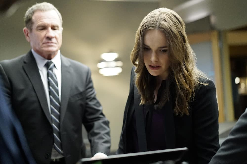 "MARVEL'S AGENTS OF S.H.I.E.L.D. - ""Uprising"" - As Coulson, Mack and Fitz attempt to track down and neutralize a rogue group looking to end Inhuman Registration worldwide, Simmons and Dr. Radcliffe only have hours to save May before she succumbs forever to her mysterious illness, on ""Marvel's Agents of S.H.I.E.L.D.,"" TUESDAY, OCTOBER 11 (10:00-11:00 p.m. EDT), on the ABC Television Network. (ABC/Jennifer Clasen) ELIZABETH HENSTRIDGE"