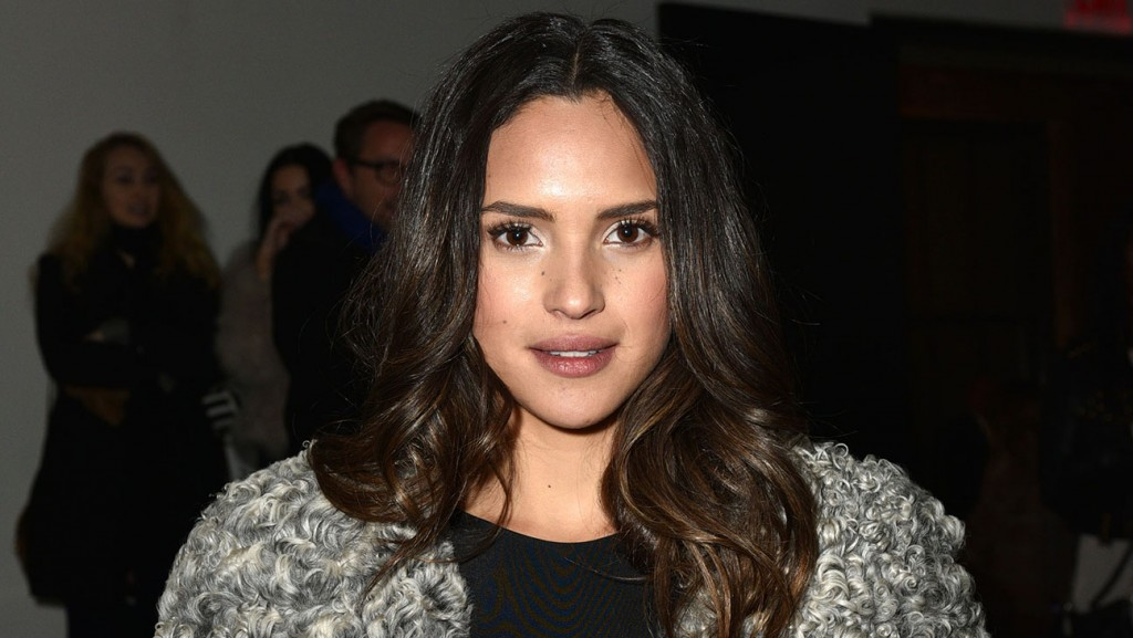Adria Arjona== CUSHNIE ET OCHS Fall/Winter 2015 Runway Show== Milk Studios, NYC== February 13, 2015== Photo - Sean Zanni/PatrickMcMullan.com== == (PatrickMcMullan.com via AP Images)