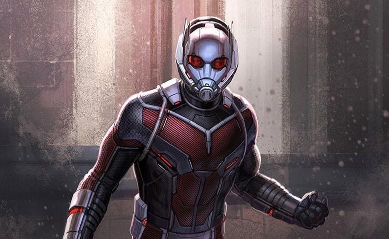 Captain America Civil War Ant-Man banner