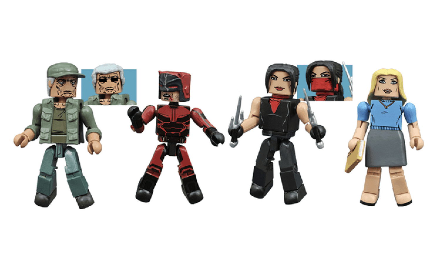 Daredevil Minimates Box Set