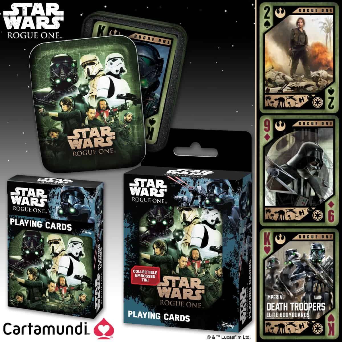 Star Wars Rogue One Cards