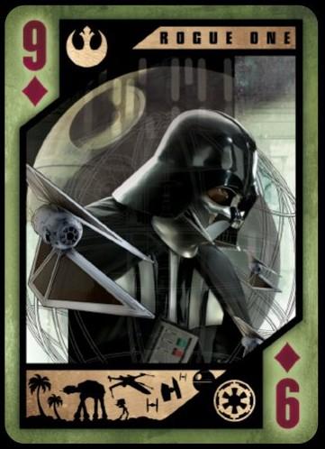 Star Wars Rogue One Darth Vader Card