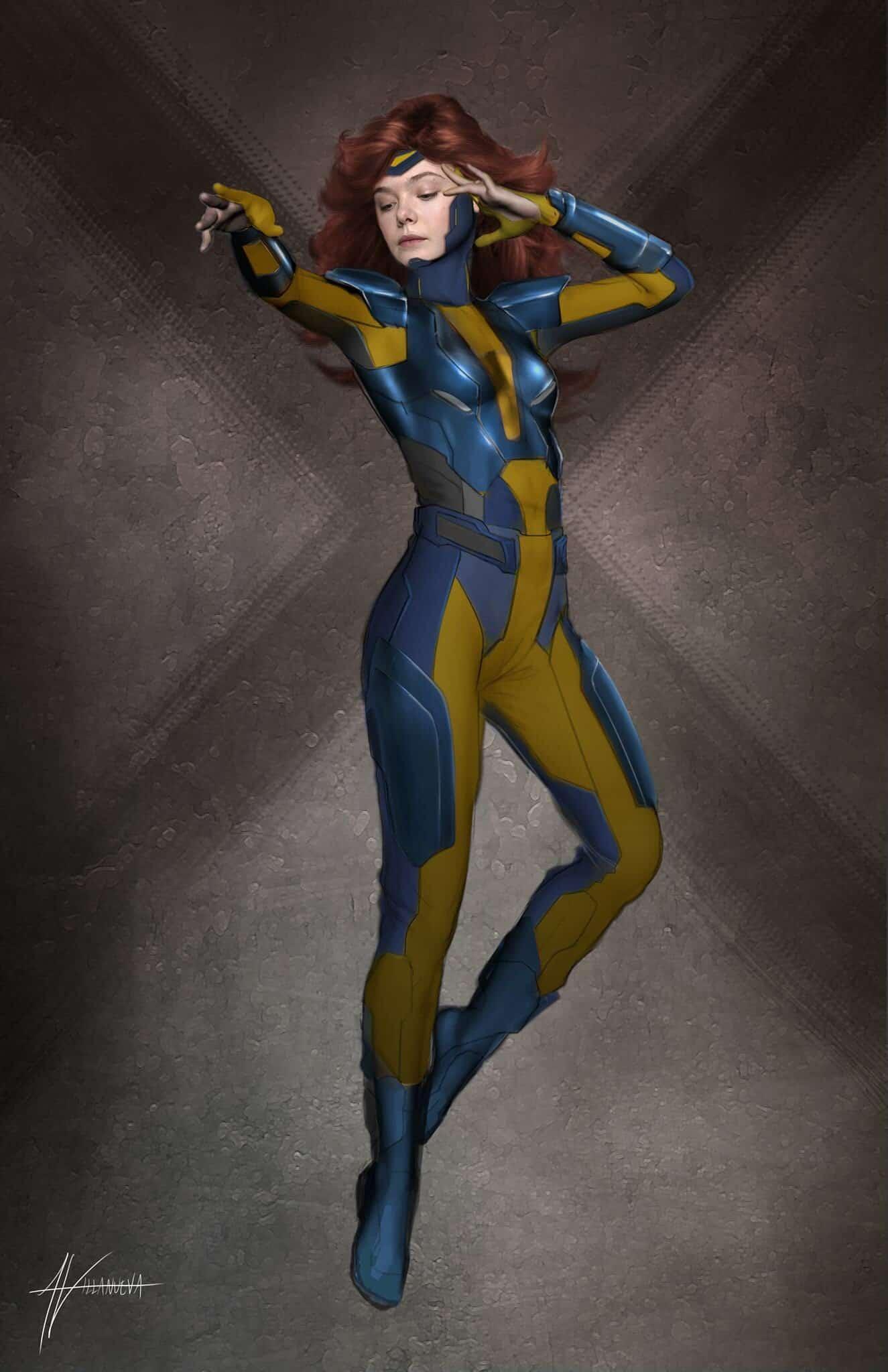 X-Men Apocalypse Elle Fanning Jean Grey