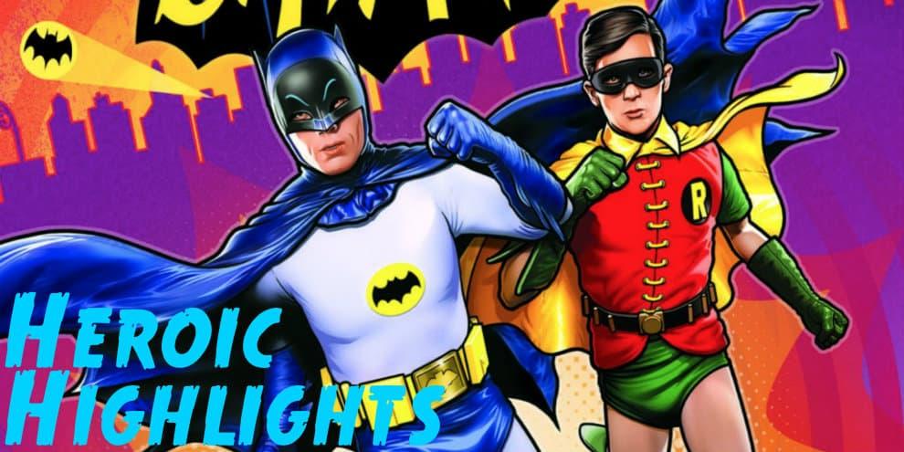 Heroic Highlights Batman Caped Crusader Marvel DC AC