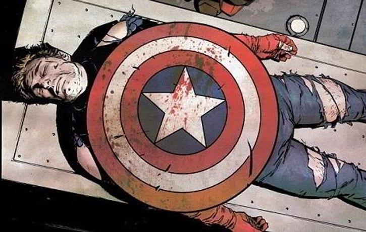 Captain America dead Civil War movie