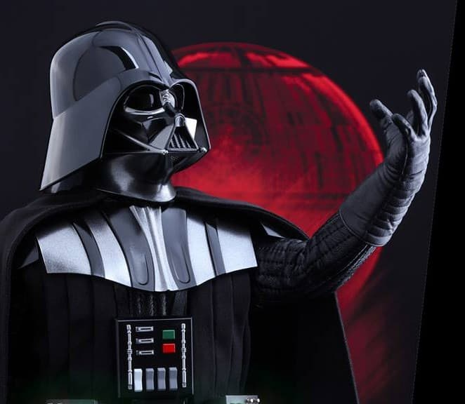 darth vader action figure by hot toys is finally revealed