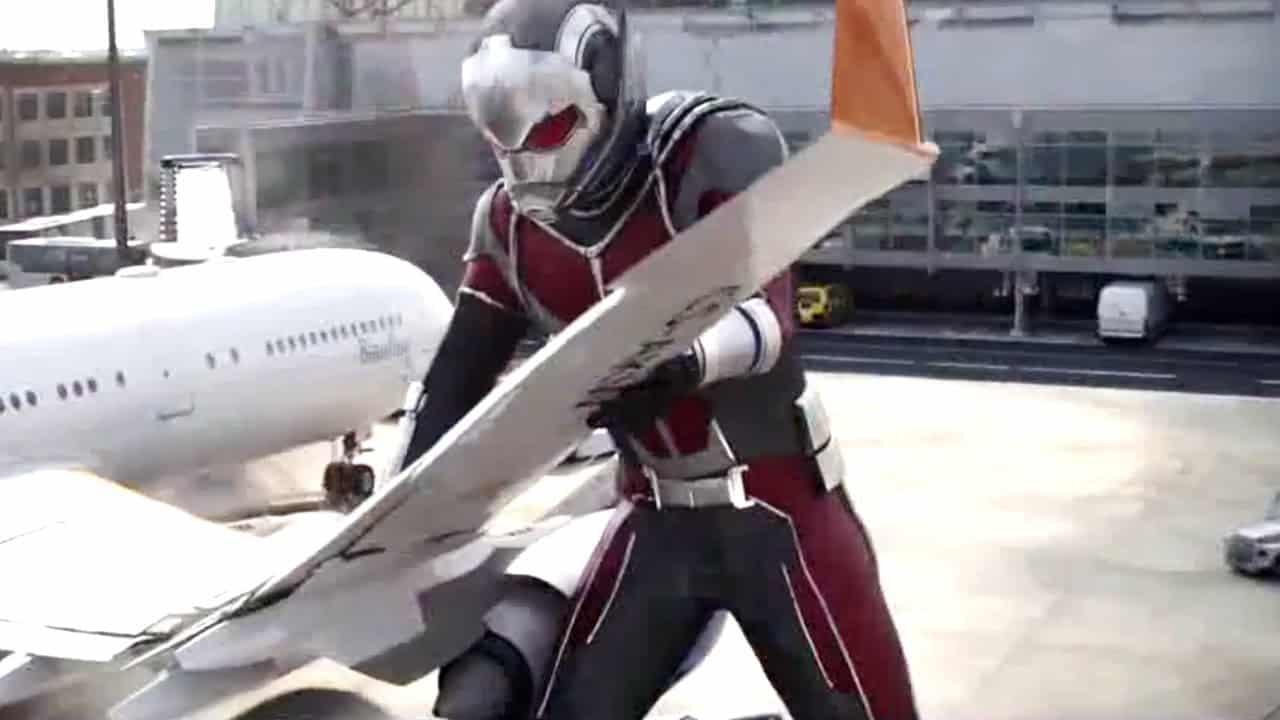 Captain America Civil War Ant-Man Chris Evans Paul Rudd