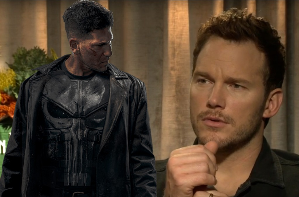 punisher marvel chris pratt