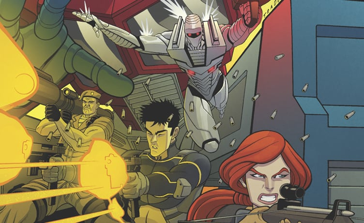 Revolution comic merges g.i joe, transformers and more