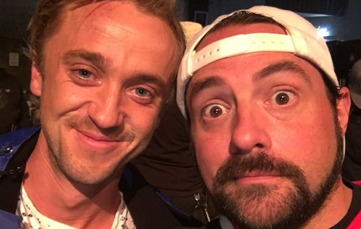 Kevin Smith and Tom Felton