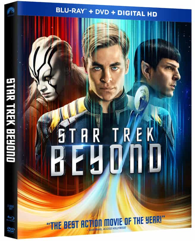 Star Trek Beyond Blu-Ray DVD