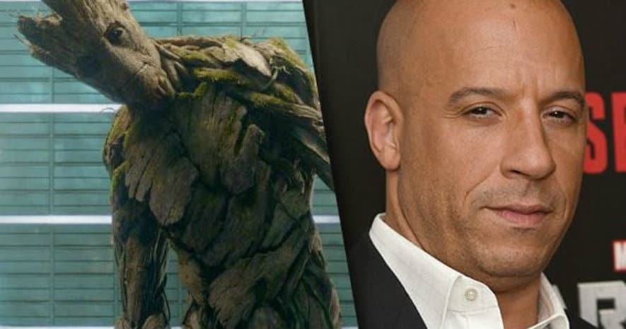New guardians of the galaxy 2 footage has vin diesel speechless