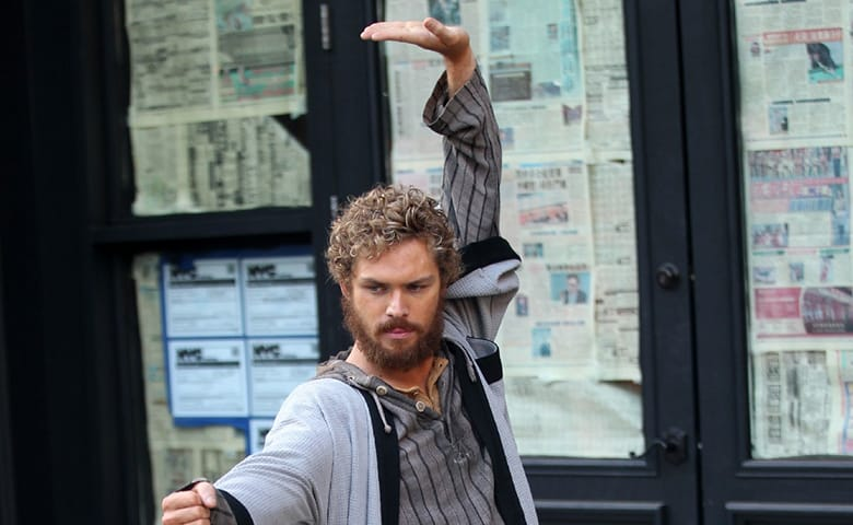 finn jones is finished filming for 39 iron fist 39 heroic hollywood. Black Bedroom Furniture Sets. Home Design Ideas