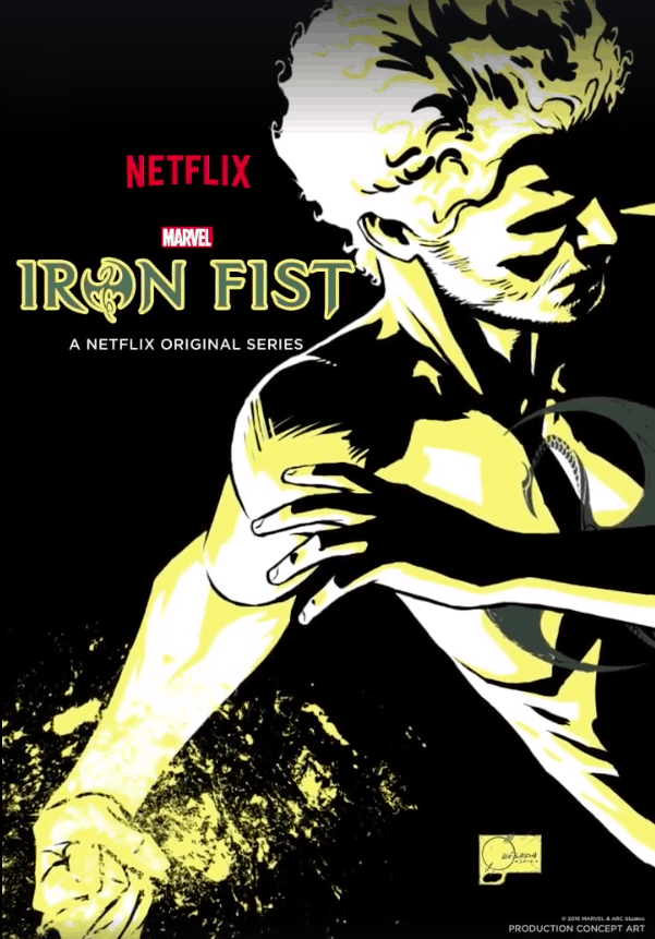Marvel's 'Iron Fist' Debuts New Poster - Heroic Hollywood