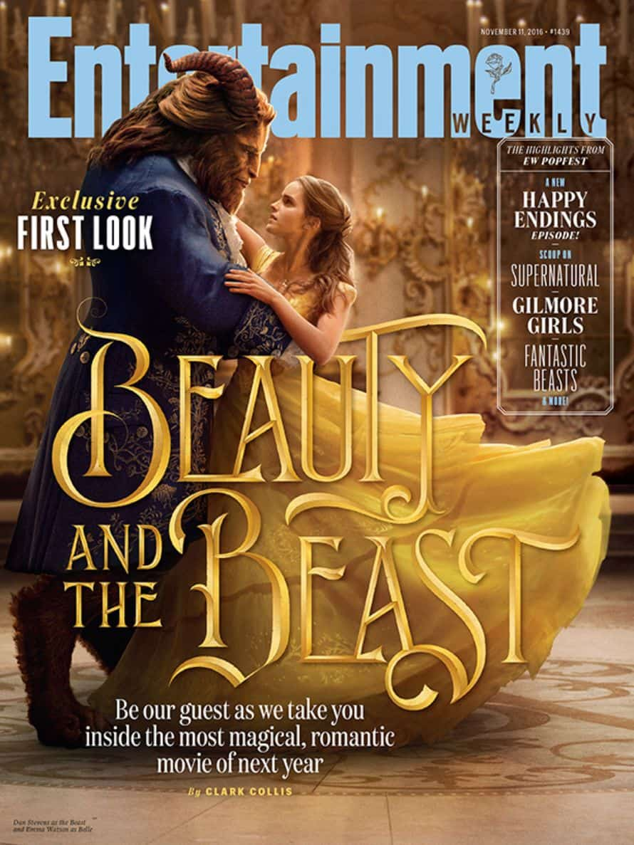 Beauty And The Beast EW Cover