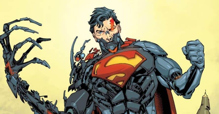 Cyborg Superman Supergirl