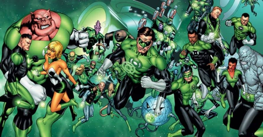 Green Lantern Corps Justice League Zack Snyder