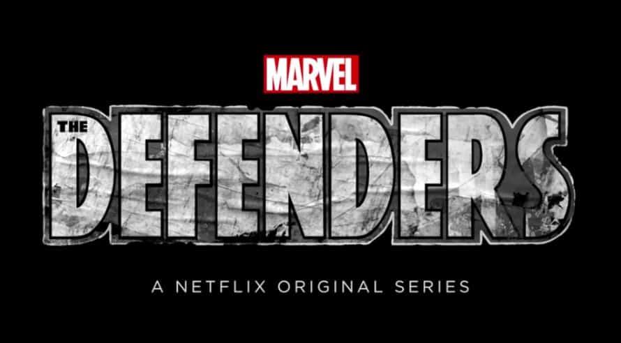 The Defenders Marvel Netflix Logo