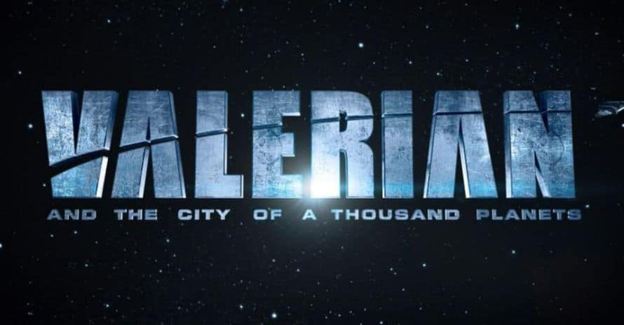 Valerian and the City of a Thousand Planets Logo
