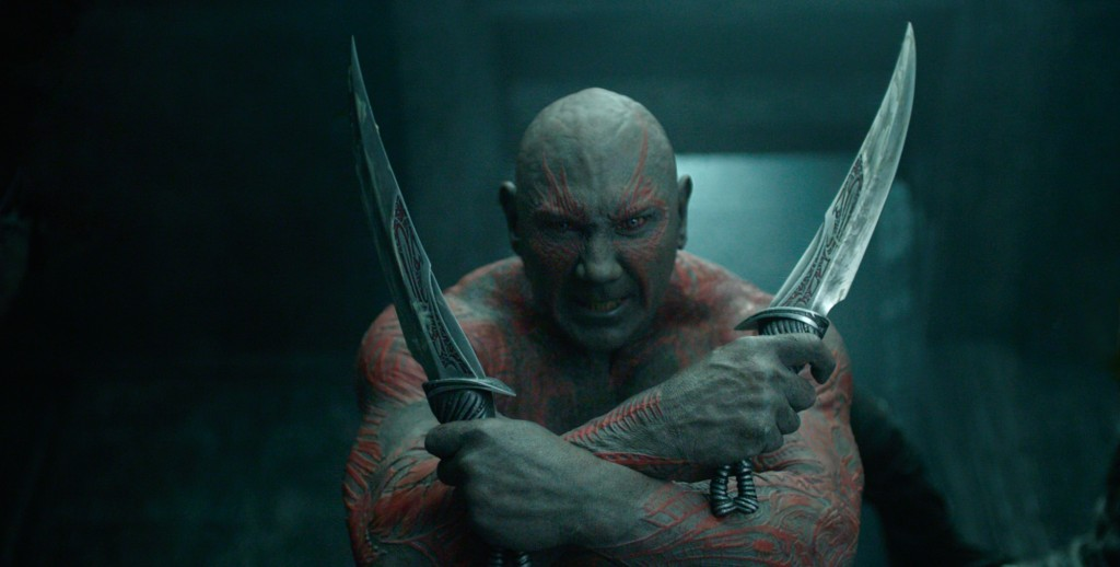 Guardians Of The Galaxy Drax Dave Bautista Avengers: Infinity War