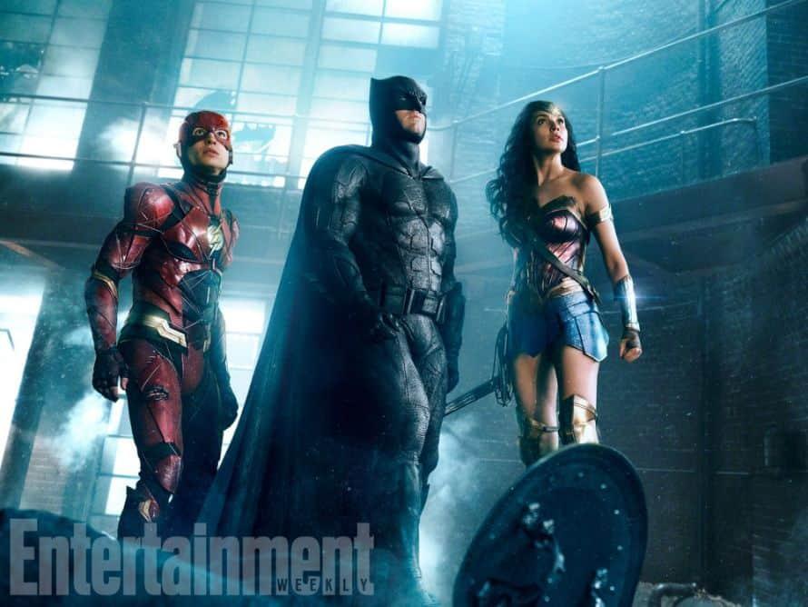 Justice League The Flash Batman Wonder Woman