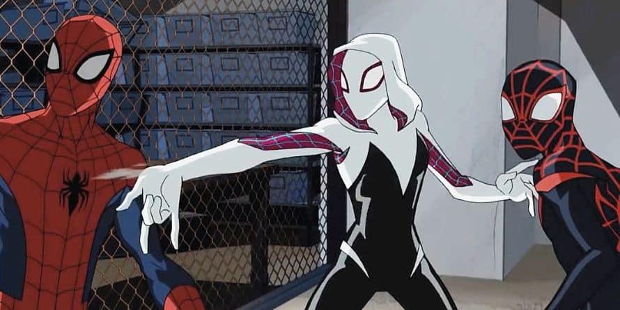 Spider-Man Spider-Gwen Miles Morales