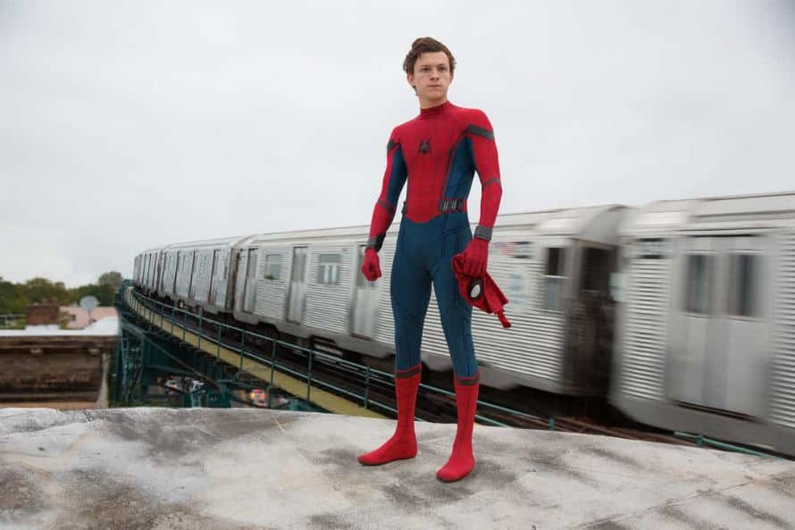 Tom Holland Spider-Man Homecoming First Image