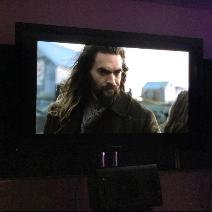 Zack Snyder Aquaman Justice League Editing Room