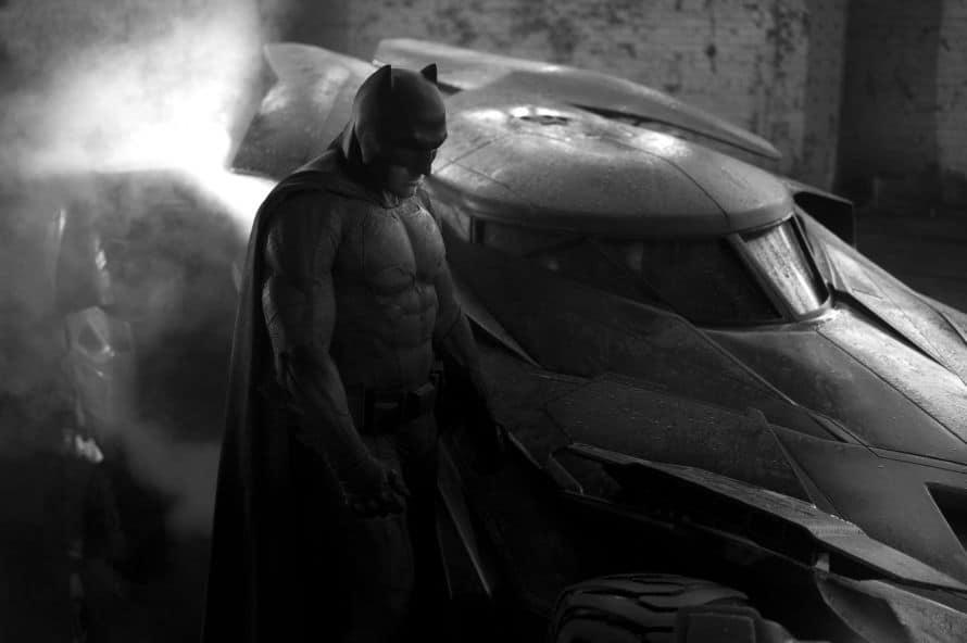 Zack Snyder Ben Affleck Batman First Look Photo