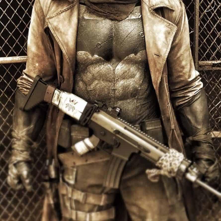 Zack Snyder Knightmare Batman Photo