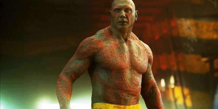 Dave Bautista Drax Guardians of the Galaxy Thanos Avengers Marvel What If...?